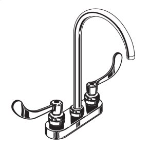 Monterrey Centerset with Rigid/Swivel Spout - Polished Chrome