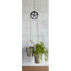 Oversized Double Buckets on Pulley Hanger