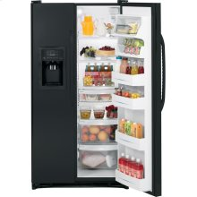 GE® ENERGY STAR® 25.0 Cu. Ft. Side-By-Side Refrigerator with Dispenser