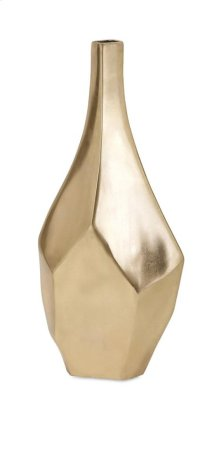 Sienna Small Gold Vase