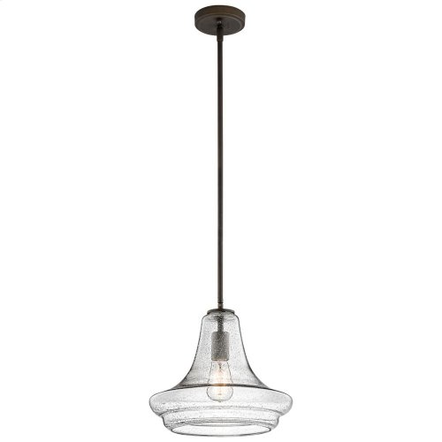 Everly Collection Everly- 1 Light Pendant  Olde Bronze