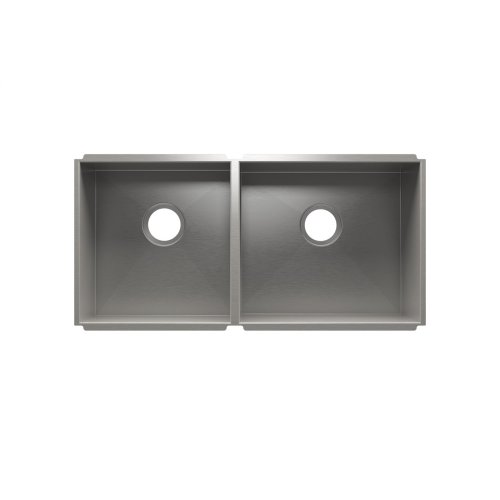 """UrbanEdge® 003654 - undermount stainless steel Kitchen sink , 15"""" × 16"""" × 8""""  18"""" × 16"""" × 10"""""""