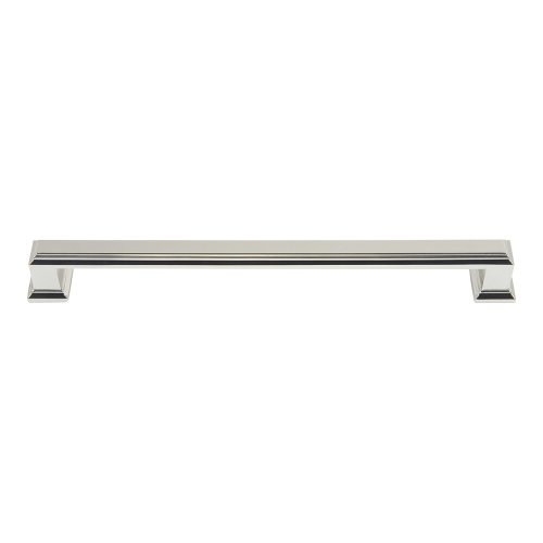 Sutton Place Pull 7 9/16 Inch (c-c) - Polished Nickel