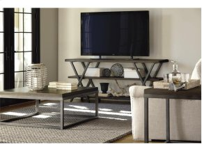 Entertainment Console - Brownstone