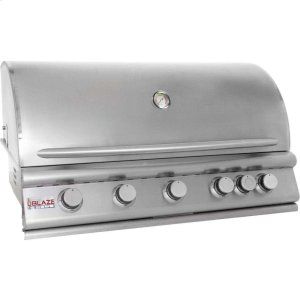 Blaze GrillsBlaze 40 Inch 5-Burner Gas Grill With Rear Burner ,Fuel Type - Propane
