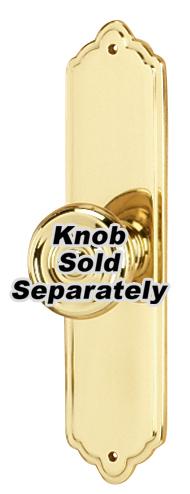 Escutcheon A1226-4 - Polished Brass