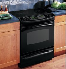 """GE Profile 30"""" Slide-In Electric Range with Trivection® Technology"""