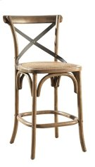 Bentwood Counter Stool w/ Metal Back Product Image