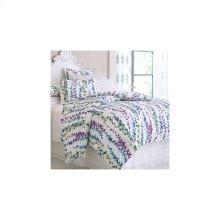 Ophelia Duvet Cover & Shams, WHITE, STAND