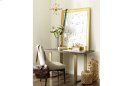 Austin by Rachael Ray Leg Writing Desk w/ Brass Finished Wood Accents Product Image