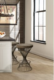 Kanister Non Swivel Bar Stool