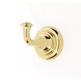 Charlie's Collection Robe Hook A6780 - Polished Brass