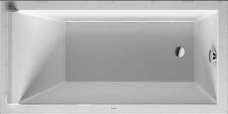 White Bathtub 59 X 29 Inch, Base Tub