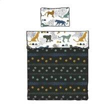 Kids Comforter and Pillowcase Safari Wild Cats - 39''