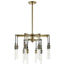Resolve Antique Brass Ceiling Light Pendant Chandelier in