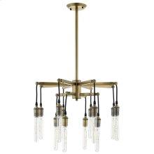 Resolve Antique Brass Ceiling Light Pendant Chandelier