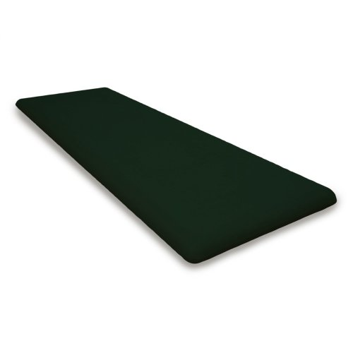 "Forest Green Seat Cushion - 18.5""D x 55.5""W x 2.5""H"