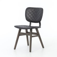 Quilted Ebony Cover Sloan Dining Chair
