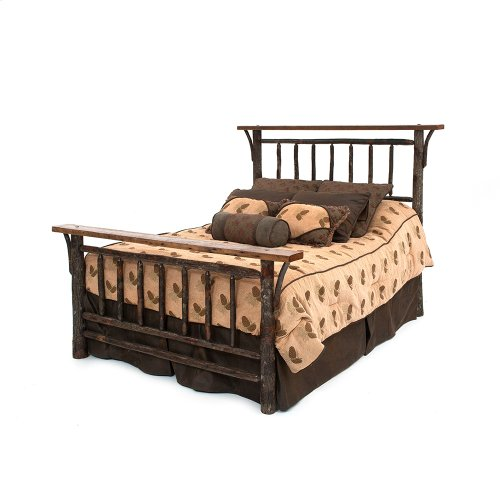 Old Yellowstone Original Spindle Bed - California King Bed (complete)