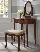Woodland Cherry Vanity, Mirror & Bench Product Image
