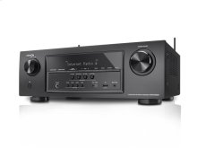 Built-in Bluetooth and Wi-Fi, 7.2 channel; 165 watts per channel maximum power, 6 HDMI Inputs/1 Out