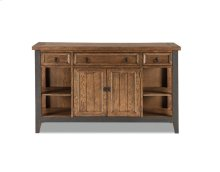 River Dining Sideboard with Metal Accents