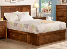 Glengarry 4 Drawer Queen Condo Bed (2 on end/1 each side)