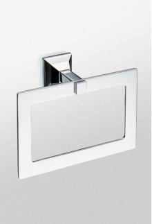Brushed Nickel Lloyd® Towel Ring