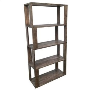 CRESTVIEW COLLECTIONSBengal Manor Acacia Wood Reverse Column Etagere