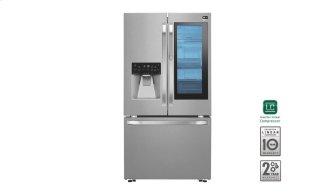 """LG Studio - 36"""" Instaview Door-in-door(R) Counter-depth Refrigerator, 24 Cu. Ft."""