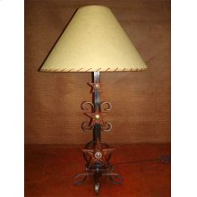 Metal Lamp With 3 Stars