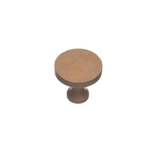"1 1/2"" Knob - Distressed Statuary Bronze"