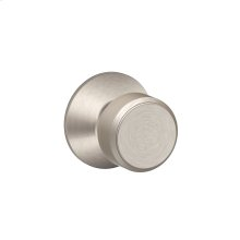 Bowery Knob Hall & Closet Lock - Satin Nickel