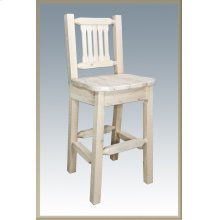 Homestead Barstool with Back