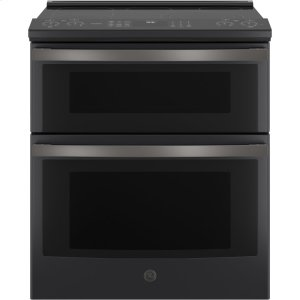 "GE ProfileGE PROFILEGE Profile™ 30"" Smart Slide-In Electric Double Oven Convection Range"