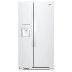 Whirlpool® 36-inch Wide Side-by-Side Refrigerator - 25 cu. ft. - White