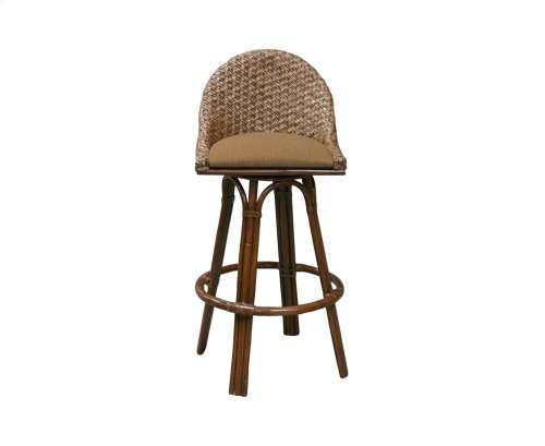 24'' Bar Stool, Available in Carmelo Finish Only.