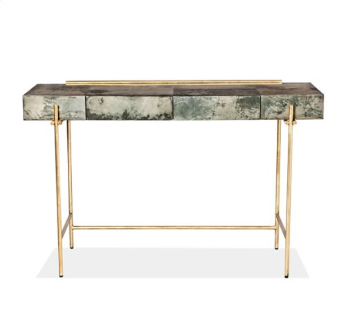 Addison Console/ Desk - Grey