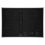"Jenn-AirEuro-Style 30"" JX3 Electric Downdraft Cooktop with Glass-Touch Electronic Controls"
