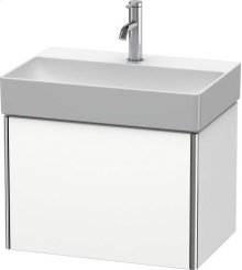 Vanity Unit Wall-mounted Compact, White Matt