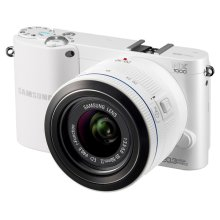 NX1000 20.3MP SMART Camera with 20-50mm Lens (White)