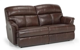 813 Leather Reclining Sofa