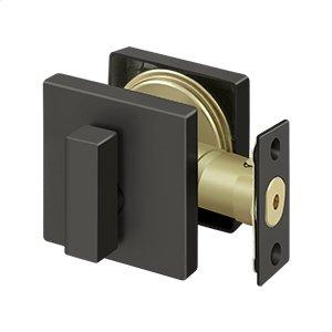 Zinc Deadbolt Lock Grade 3 - Oil-rubbed Bronze Product Image