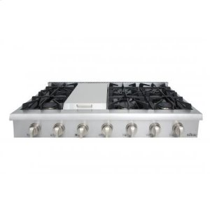 "Thor48"" Professional Gas Rangetop In Stainless Steel"
