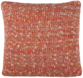 DARLING KNIT PILLOW - Orange Combo