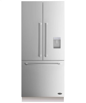 """DCS Activesmart Refrigerator 36"""" Integrated French Door With Ice & Water - 80"""" / 84"""" Tall"""
