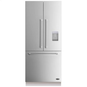 """DCSDCS Activesmart Refrigerator 36"""" Integrated French Door With Ice & Water - 80"""" / 84"""" Tall"""