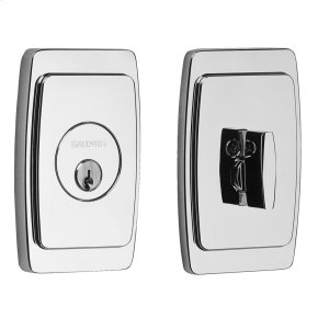 Polished Chrome Palm Springs Deadbolt