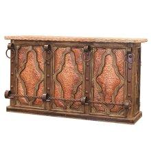 Bar W/Front Copper Panels