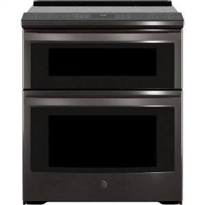 """GE Profile30"""" Smart Slide-In Electric Double Oven Convection Range"""
